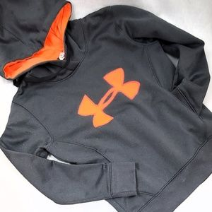 Grey & Orange Hoodie Under Armour Cold Gear Unisex